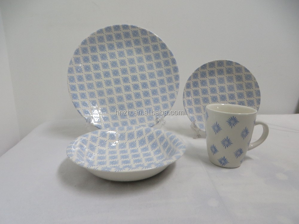 Ceramic dinnerware pakistani dinner table set