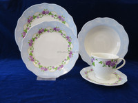 Exclusive Porcelain Dinnerware,Blue and White Porcelain Dinnerware Set