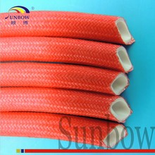 Flexible High Temperature Resistant Silicone Rubber Glassfiber Fixed-thread Sleeving