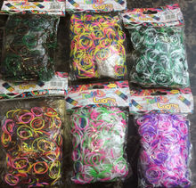 600 Colourfull loom band cheap loom band