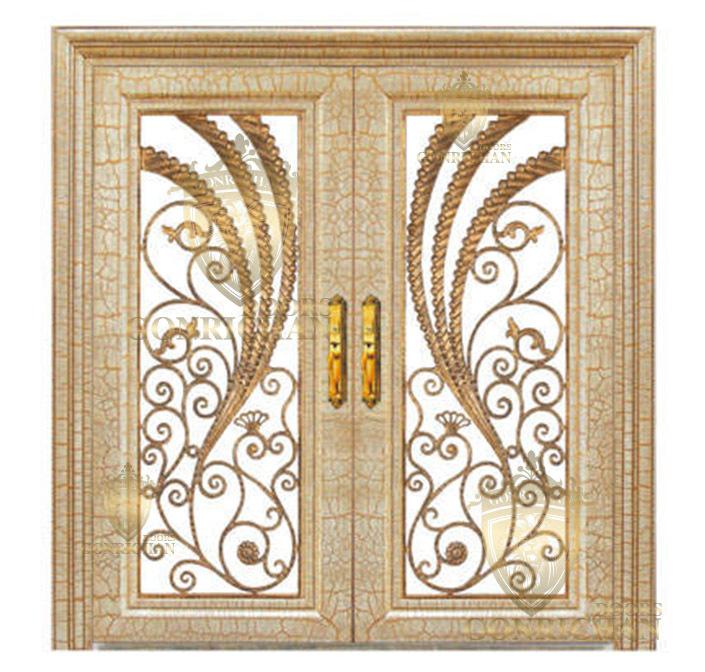 Steel Door DesignHotel Front DoorDouble Swing Security