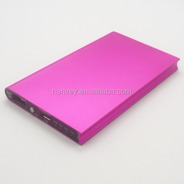 4500mah portable usb cell phone battery charger