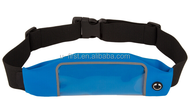 Hot selling waterproof sport waist bag , fashional hiking waist pouch