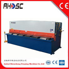 QC12Y-6x3200 automatic shearing machine for sale manufacture metal plate width 3200mm hydraulic swing beam shears QC12Y series