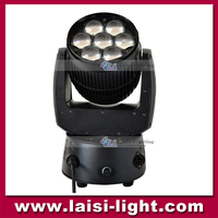 High Quality 7PCS*12W RGBW LED Moving Head Light With Zoom,Super Brightness 7PCS Moving Head Beam Projector