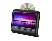"9"" HD Touch Screen Car Headrest DVD Player with 32Bit Game+USB+SD+IR/FM transmitter Support MP3 MP4 MP5."