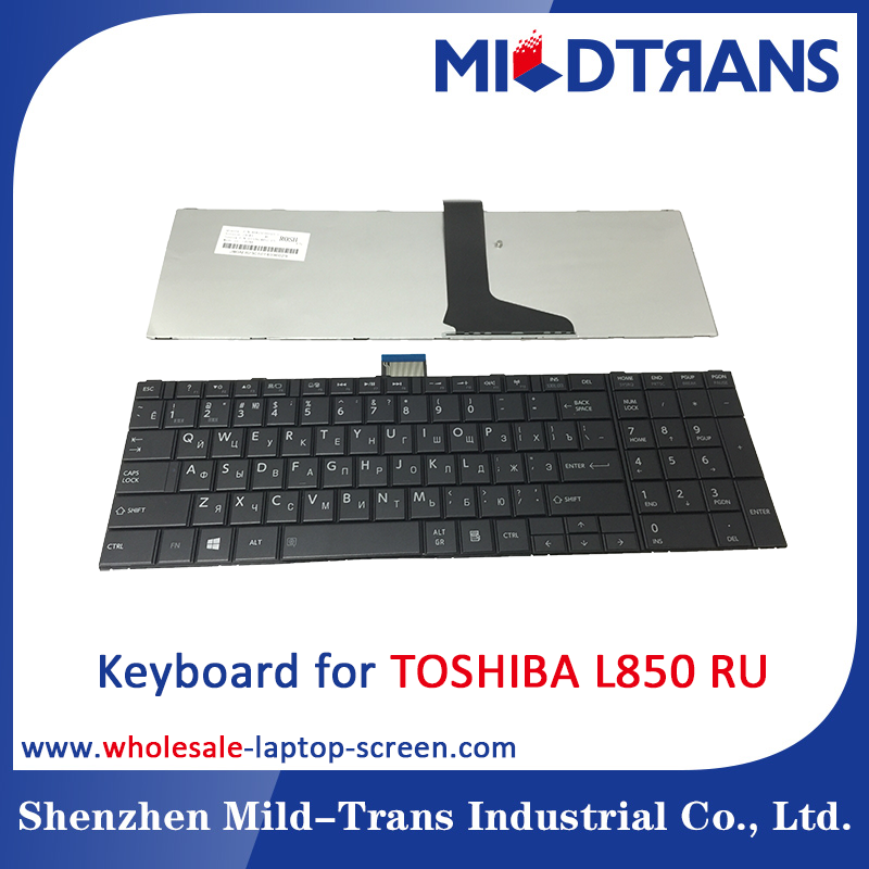 Original RU layout laptop keyboard for Toshiba L850 keyboard
