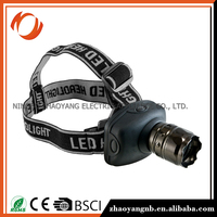 Hiking headlamp rechargeable led headlamp