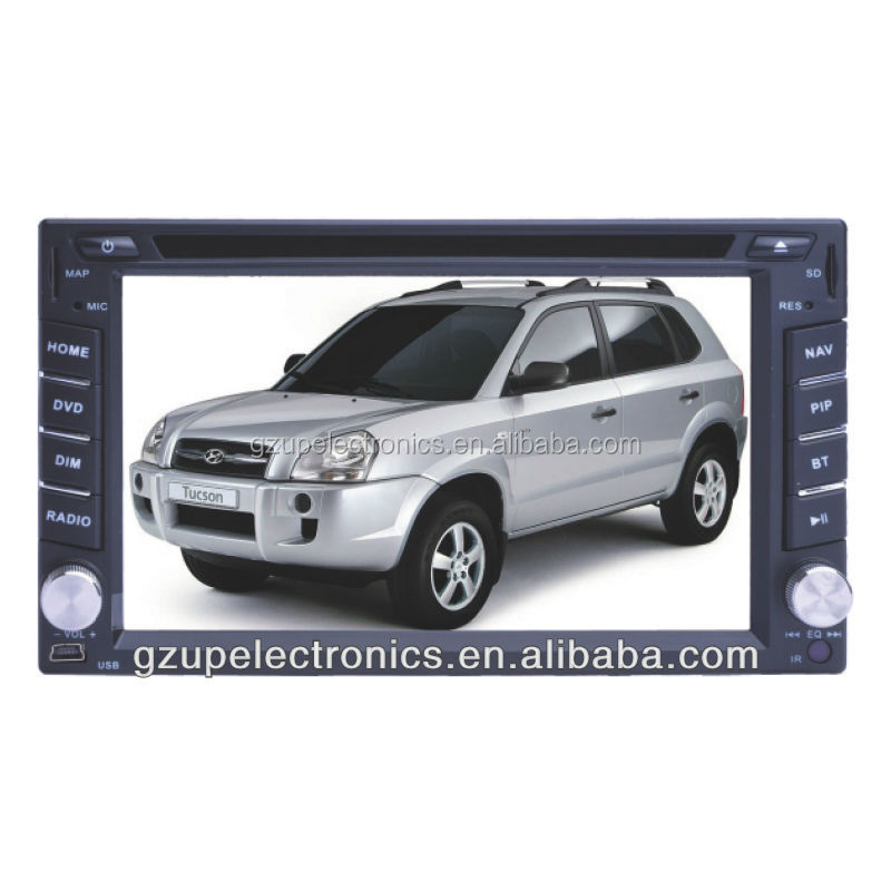 "6.2"" Fixed Double Din DVD for Hyundai Tucson"