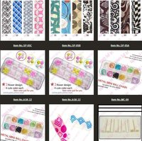 fashion 3D plastic stickers nail art accessories decoration&5050