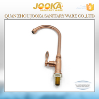 professional hot and cold long neck kitchen water tap