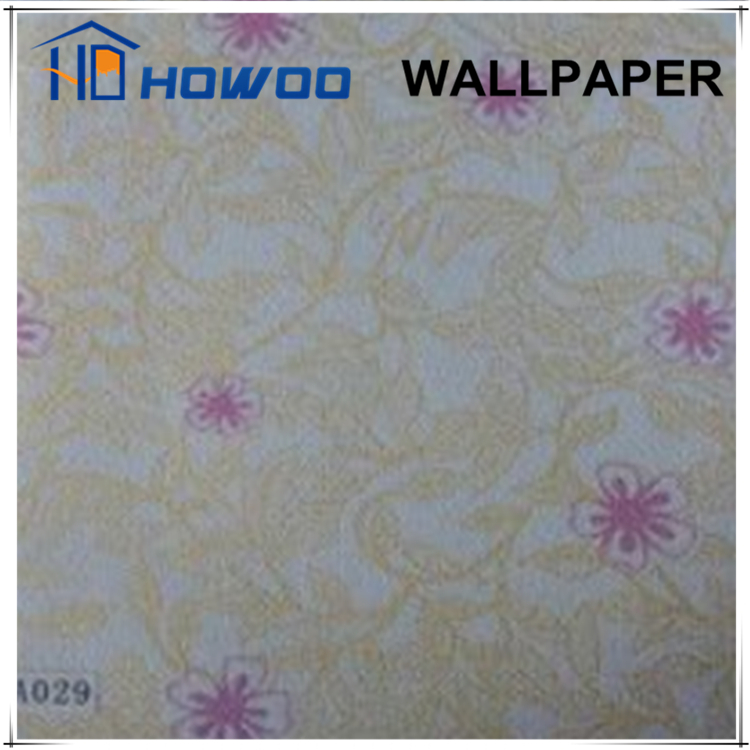 Howoo nature designs self-adhesive vinyl kids bedroom wallpaper