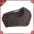 plastic durabe storge basket rattan shoes basket for hotel and home