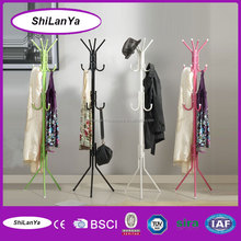 colorful metal folding hanging clothes rack