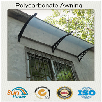 Polycarbonate transparent clear plastic canopy
