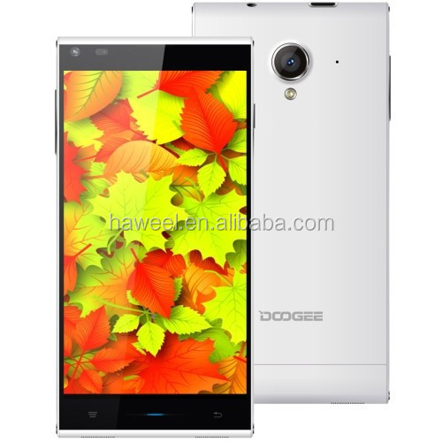 DOOGEE DG550 16GB White, 5.5 inch 3G Android Android 4.4 Smart Phone, MTK6592, 8 Core 1.7GHz, RAM: 1GB, Dual SIM, WCDMA & GSM