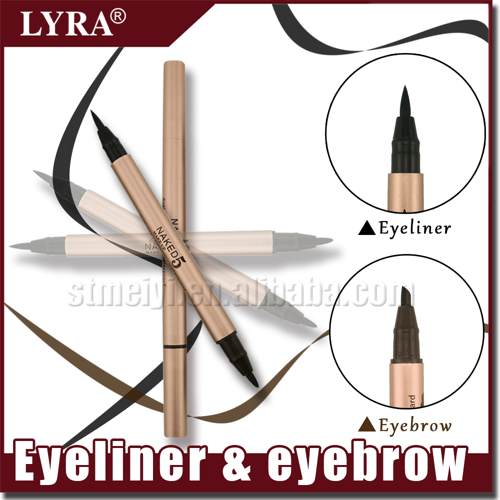 Naked 5 Liquid Eyeliner And Eyebrow Makeup Pencil Fast Dry Durable