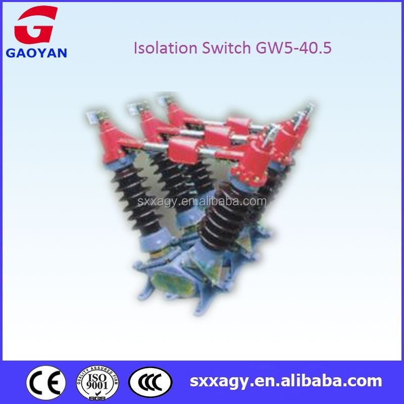 High Voltage Isolation Switch