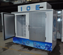 Outdoor Freezer Bagged Ice Storage Bin With CE Certification