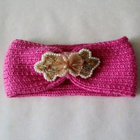 Latest product high quality fashion knit headband pattern from direct factory
