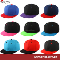 Factory wholesale cheap snapback caps custom snapback caps blank snapback caps