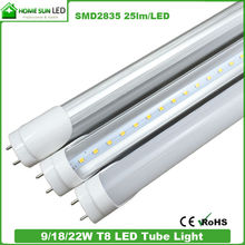 LED tube T8, 18W T8 LED tube light