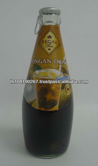 Longan Drink in Glass Bottle (290 ml from Thailand)