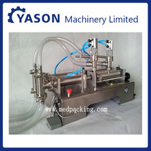 100-1000ml liquid filling machine price/liquid bottle filling machine/stainless steel glass bottle beer filling machine