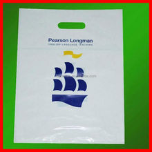 cheapest non woven die cut bag NO.847 orange pvc die cut bag