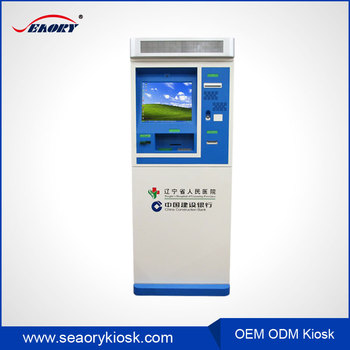 Self Service Payment Kiosk With Card Reader