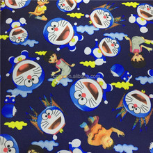 300x300d 100% Polyester Oxford Cartoon Print Fabric For Baby Stroller