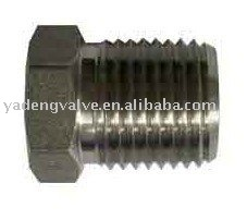 hex head pipe plug, forged steel pipe fittings