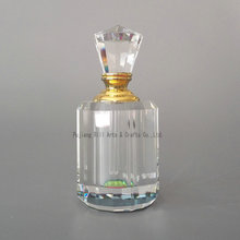Wholesale nice custom design crystal glass perfume bottle