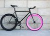 New 700C Single Speed Colourful alloy Rim alloy swallow handlbar flip flop Fixed Gear Road Bike Bicycle