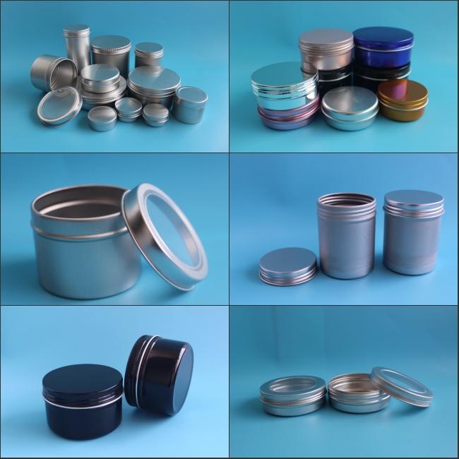 Garrafa de alumínio frasco, recipiente de lata de alumínio, caixa de lata de alumínio