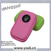 Colourful lightweight cool speaker case with one loudspeaker