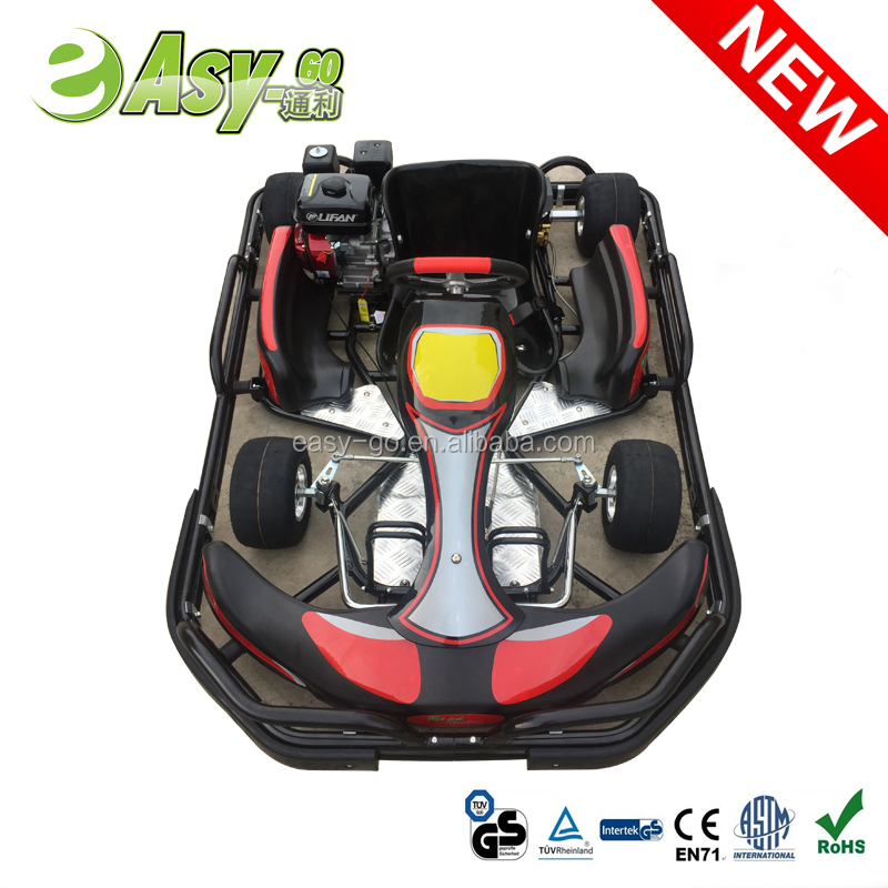 Hot selling 200cc/270cc 6.5HP/9HP 4 stock old go kart for sale with safety bumper pass CE certificate