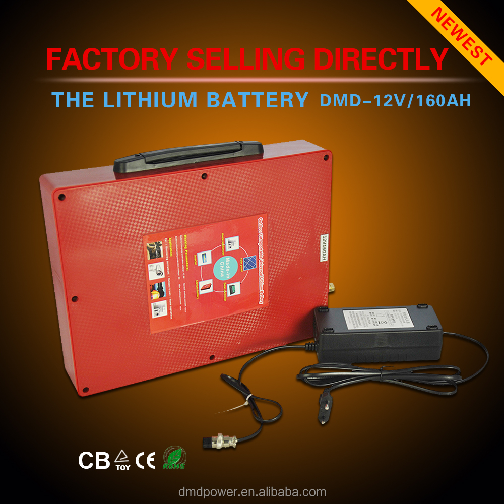 4 pieces of 12v 160ah battery in parallel to be deep cycle 12v 160ah battery