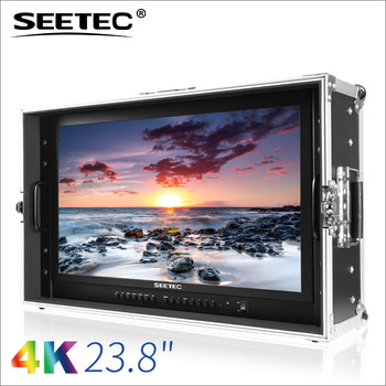 SEETEC 23.8'' IPS 4K 3840*2160 carry-on 3G-SDI photo studio monitor
