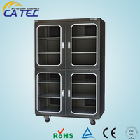 humidity control auto dry cabinet/desiccant dehumidifier for SMT/PCB/LCD/LED-DRY1436EB-4