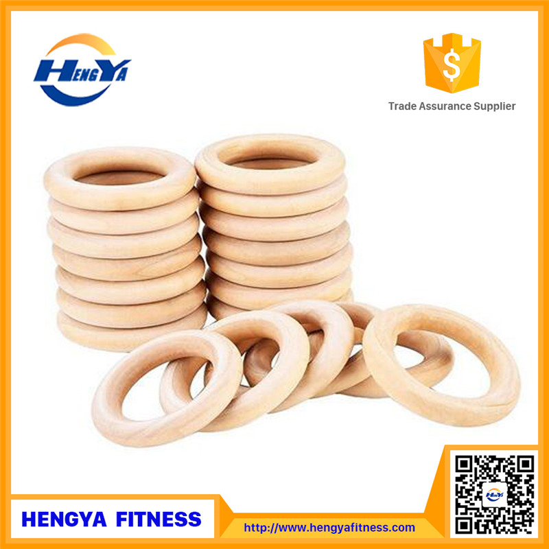wooden gym rings fitness equipment gym / gym body building equipment