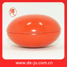 Egg shape specialized design empty cosmetic cream box