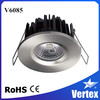China paten product IP65 fire rated 8w commercial led downlights