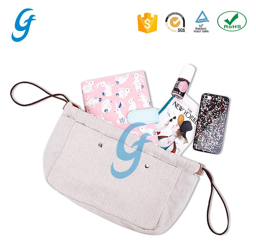 High Quality Factory Wholesale Fabric Linen Storage Bag with drawstring