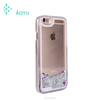 For iPhone 6 Rose Gold Housing With Back Cover Stock Manufacture Liquid Cover Case