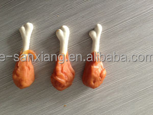 chicken leg shaped dog snacks pet food