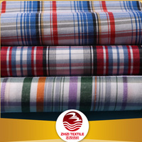 China wholesale market agents check shirting fabric