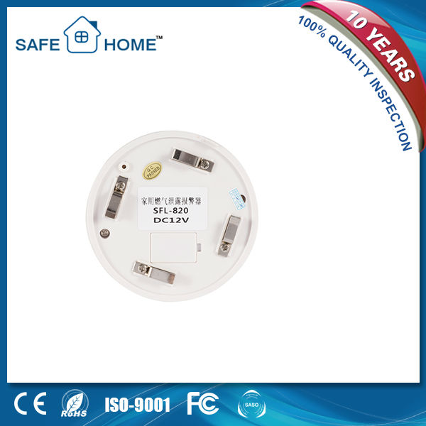 2013 New Home Sound and Light Gas leak Alarm SFL-820