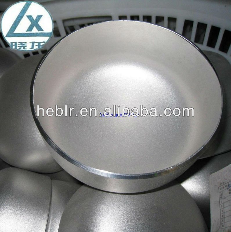 Alloy steel BW pipe end cap