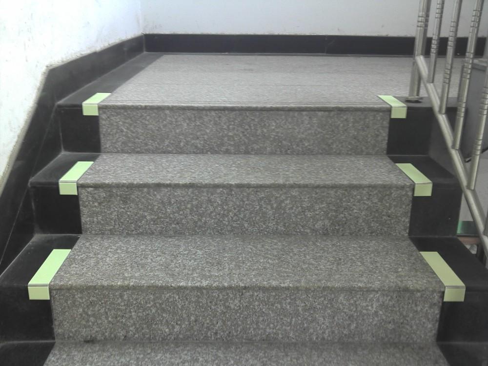 Aluminum Glow In Dark Step Nosing, Stair Nosing, Step Strips